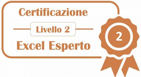 Certificazione Livello 2 - Excel Esperto